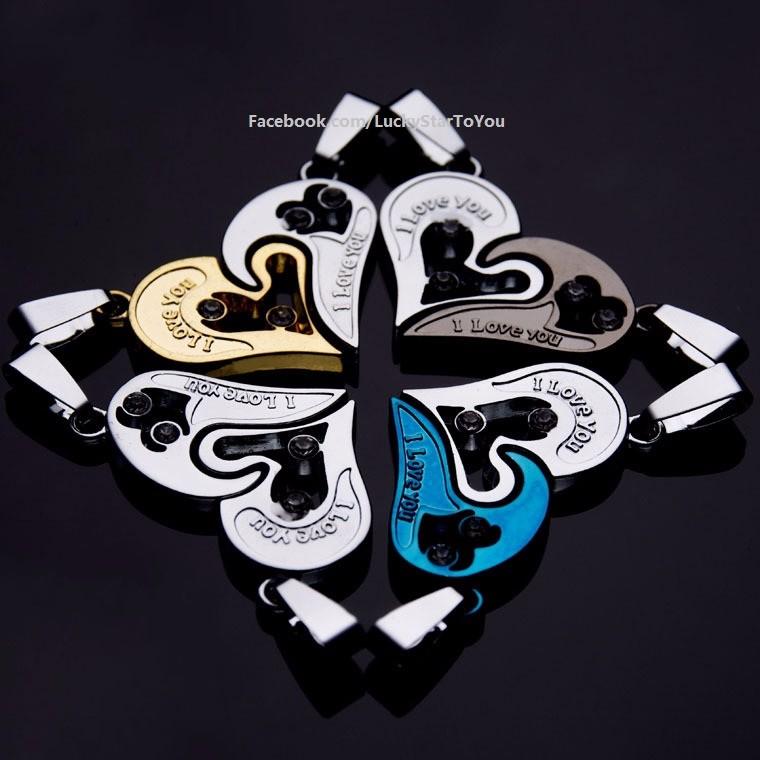Trang sức đôi - Dây chuyền đôi