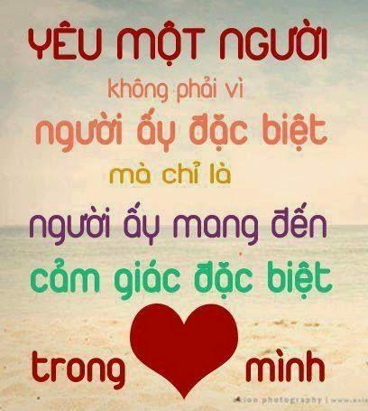 Tình yêu cảm nhận bằng trái tim