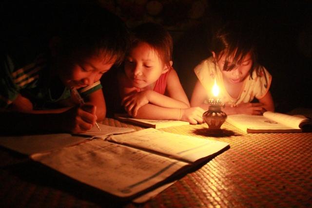Chiếc đèn dầu của đời tôi