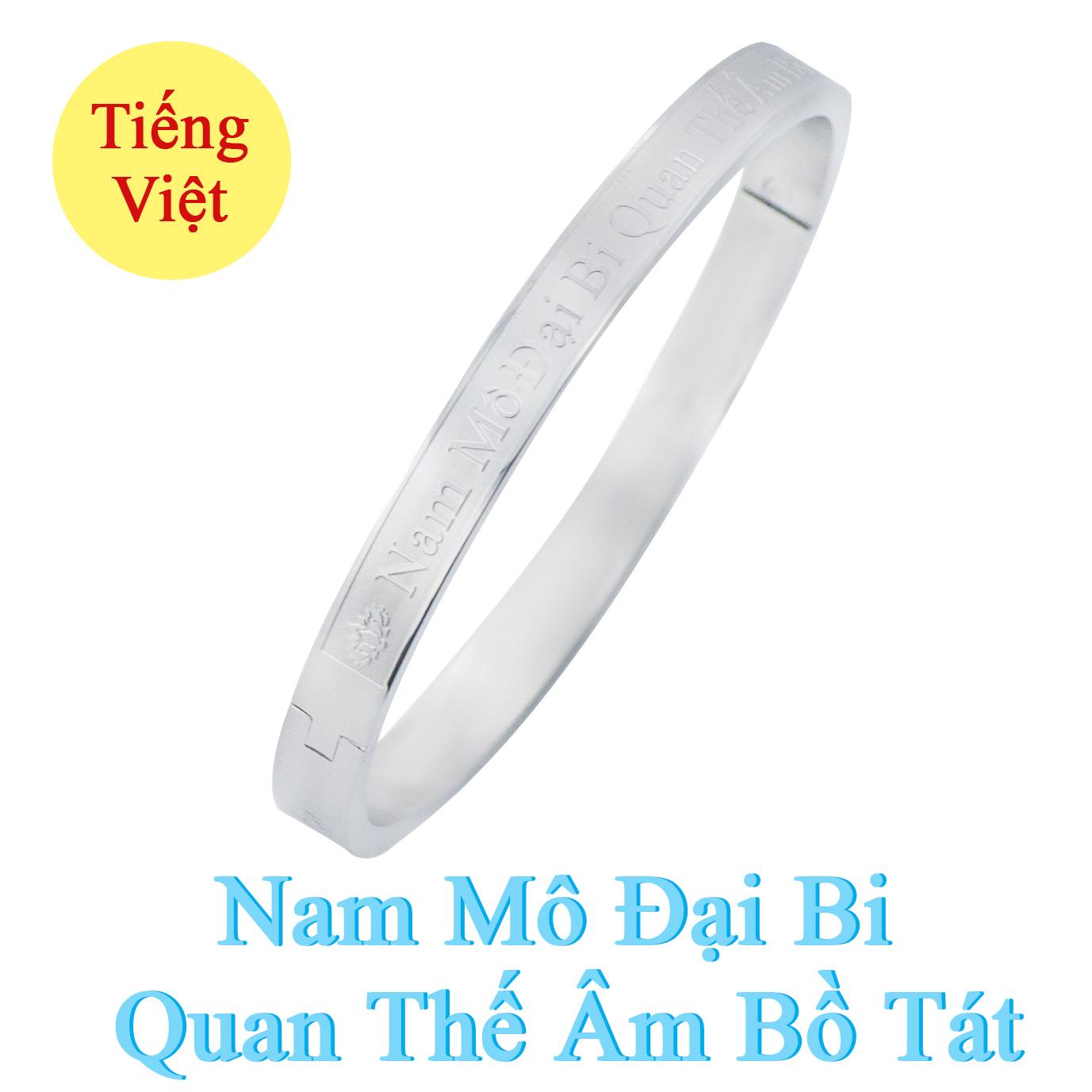 Vòng tay niệm Phật NAM MÔ ĐẠI BI QUAN THẾ ÂM BỒ TÁT